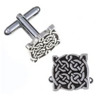 Celtic Four Knot T-bar Cufflinks